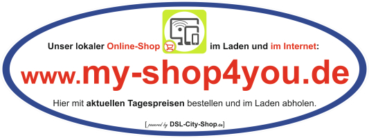 www.my-shop4you.de - Onlineshop vom DSL-City-Shop.de